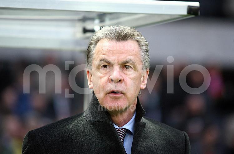FUSSBALL   DFB POKAL   FINALE   19.04.08 Borussia Dortmund - FC Bayern Muenchen Trainer Ottmar HITZFELD (FC Bayern Muenchen), Portrait vor Spielbeginn.