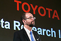 Toyota's Executive Technical Advisor Dr. Gill Pratt attends a news conference on November 6, 2015, Tokyo, Japan. Akio Toyoda President of Toyota Motor Corporation announced that Toyota would start a new company Toyota Research Institute (TRI) in Silicon Valley, USA, which will focus on Artificial Intelligence and robotics. Dr. Gill will be the Chief Executive Officer of the new company which will begin operations in January 2016. (Photo by Rodrigo Reyes Marin/AFLO)