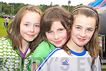All smiles at the Killarney rugby club fun day on Sunday were Niamh Mannix, Teresa Mannix and Kate Dean.   Copyright Kerry's Eye 2008