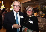 WATERBURY,  CT-051619JS22-  Michael and Mary Culhane of Middlebury at the Children's Community School's annual dinner and 50th anniversary celebration at La Bella Vista in Waterbury. <br /> Jim Shannon Republican American