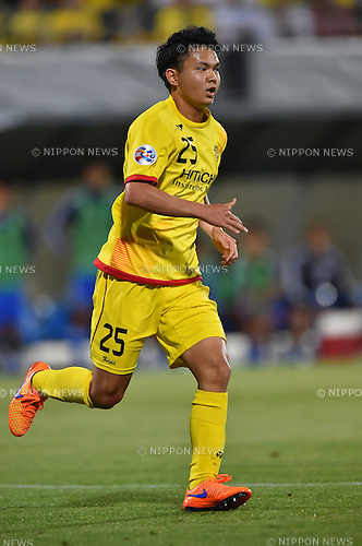 Yusuke Kobayashi (Reysol),<br /> MAY 26, 2015 - Football / Soccer :<br /> AFC Champions League Round of 16 2nd leg match between Kashiwa Reysol 1-2 Suwon Samsung Bluewings at Hitachi Kashiwa Soccer Stadium in Chiba, Japan. (Photo by AFLO)