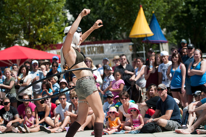 Edmonton International Street Performers in Edmonton, Alberta. Photo by Marc Chalifoux, EPIC Photography