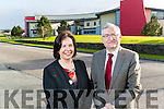 Oliver Murphy, IT Tralee and Moira Murrell, CEO Kerry County Council at Tralee Technology Park.