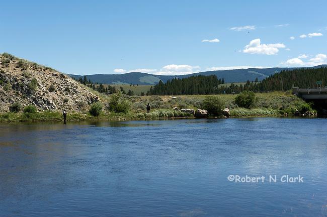 Big Hole River near Wisdom, Montana