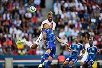 Eric Maxim Choupo Moting (PSG) vs MITROVIC Stefan (Strasbourg) <br /> 14/09/2019<br /> Paris Saint Germain PSG - Strasbourg <br /> Calcio Ligue 1 2019/2020 <br /> Foto JB Autissier Panoramic/insidefoto <br /> ITALY ONLY