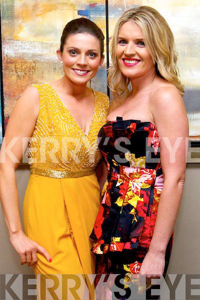Maura O'Connor and Vivian O'Shea enjoying the Kerins O'Rahilly Social at Ballyroe Heights Hotel on Saturday