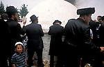 Israel, Upper Galilee,  Lag B'Omer pilgrimage to the tomb of Rabbi Shimon Bar Yohai at Meron