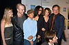 "Robin Williams and family, Zach, Cody and Marcia and ..Zelda and David Duchovny ..at the ""House of D"" movie screening at the Tribeca Film Festival on May 7, 2004 in New YOrk City. ..Photo by Robin Platzer, Twin Images"