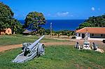 Vila dos Remédios no Arquipélago de Fernando de Noronha. Foto de Juca Martins.
