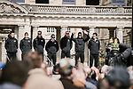 Lotto-Soudal at the team presentations in Compiegne before Paris-Roubaix 2019, Compiegne, France. 13th April 2019<br /> Picture: ASO/Pauline Ballet | Cyclefile<br /> All photos usage must carry mandatory copyright credit (&copy; Cyclefile | ASO/Pauline Ballet)