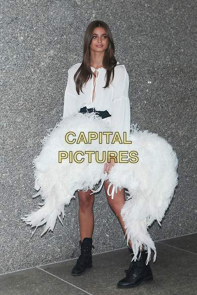 NEW YORK, NY - AUGUST 29:  Taylor Hill attends fittings for the Victoria's Secret 2017 Fashion Show on August 29, 2017 in New York City. <br /> CAP/MPI/DC<br /> &copy;DC/MPI/Capital Pictures