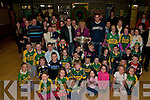 Duagh : A section of the crowd at Duagh Nation School for the visit of Sam Maguire on saturday night,
