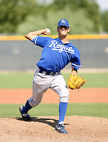 Carson Bryant / Kansas City Royals 2008 Instructional League..Photo by:  Bill Mitchell/Four Seam Images
