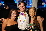 Kim Raschke, Matt Marshburn and Courtney O'Donnell at the 20th San Luis Salute Friday Feb. 05, 2016.(Dave Rossman photo)