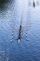 University of Washington Eight Woman Rowing Team Breaks 30-year Course Record in Time of 6:07.03 Minutes, Windermere Cup 2017, Mountlake Cut, Lake Washington, Seattle, WA, USA.