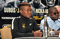 Nioola Adams during a Press Conference at the Landmark London Hotel on 2nd August 2018