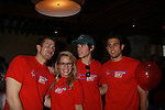 One Life To Live's Josh Kelly, Kristen & Eddie Alderson, Lenny Platt at the Daytime Stars and Strikes Charity Event to benefit the American Cancer Society at the Bowlmore Lanes, New York City, New York. (Photo by Sue Coflin/Max Photos)