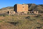 Torre de los Alumbres, Rodalquilar, Cabo de Gata national park, Almeria, Spain