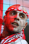 14 June 2006: Tunisia fan. Tunisia and Saudi Arabia tied 2-2 at the Allianz Arena in Munich, Germany in match 16, a Group H first round game, of the 2006 FIFA World Cup.
