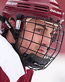 Chris Calnan (BC - 11) - The Boston College Eagles practiced at Fenway on Friday, January 6, 2017, in Boston, Massachusetts.