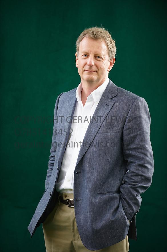 Jeremy Leggett,leading Solar Expert at The Edinburgh International Book Festival 2009.CREDIT Geraint Lewis