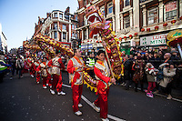 02.02.2014 - Chinese New Year Celebrations in London