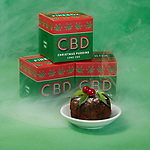 CBD infused Christmas pudding by Firebox