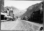 Main street of Telluride.<br /> RGS  Telluride, CO  Taken by Nusbaum, Jesse L. - 1907