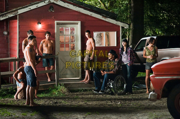 Gil Birmingham, Julia Jones, Tinsel Korey, Booboo Stewart, Bronson Pelletier, Alex Meraz, Tyson Houseman, Kiowa Gordon<br /> in The Twilight Saga: Eclipse (2010) <br /> (Twilight 3)<br /> *Filmstill - Editorial Use Only*<br /> FSN-D<br /> Image supplied by FilmStills.net