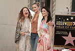 Lucy Liu Honored With Star On The Hollywood Walk Of Fame on May 01, 2019 in Hollywood, California.<br /> a_Lucy Liu 009  Drew Barrymore, Cameron Diaz
