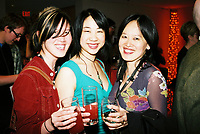 Toronto (ON) CANADA, April 21, 2007<br /> <br /> Christine Miguel (director ), Leanne Poon, actress, June Chua, Director<br /> at the HOT DOCS Film Festival 2007 <br />  Canadian Party held at the BATA Show Museum.<br /> <br />     photo by Pierre Roussel - Images Distribution