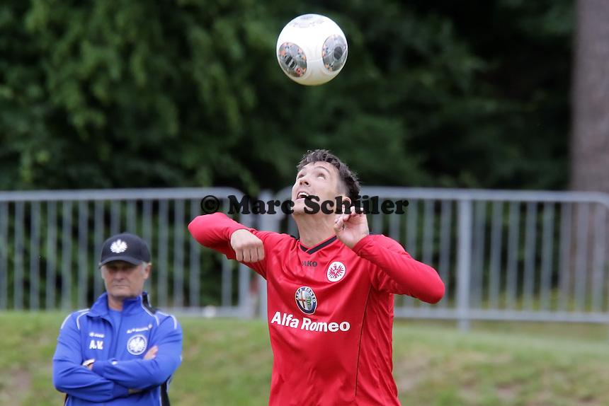 Srdjan Lakic (Eintracht) - Eintracht Frankfurt Trainingsauftakt