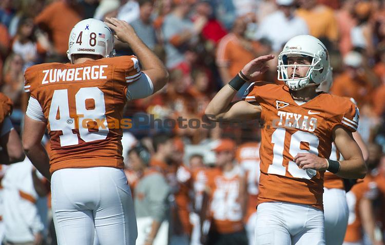 Alex Zumberge (48), Justin Tucker (19)