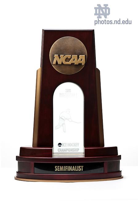 June 29, 2011; Hockey Frozen Four trophy..Photo by Matt Cashore/University of Notre Dame