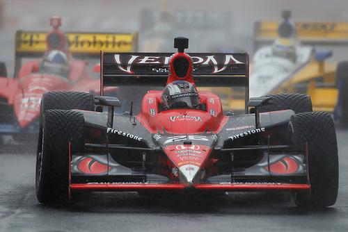 30 April - 1 May, 2011, Sao Paulo, Sao Paulo Brazil<br /> Marco Andretti leads Dario Franchitti, Ryan Briscoe and EJ Viso.<br /> © 2011 Phillip Abbott<br /> LAT Photo USA