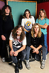 Various portrait sessions of the rock band, Flotsam & Jetsam