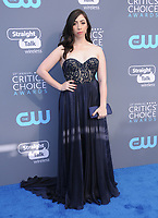 11 January 2018 - Santa Monica, California - Olivia Sadnoval. 23rd Annual Critics' Choice Awards held at Barker Hangar. <br /> CAP/ADM/BT<br /> &copy;BT/ADM/Capital Pictures