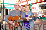 Kaye and Jimmy Fleming who have been busking at Markets Cross, Killarney foe 25 years to raise funds for MS will be honoured with a civic reception on the 11 March by the town Council