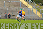 BALL CONTROL: Kerry's Michael Conway shows his ball control to Meath's Enda Fitzgerald in the 3rd round of the Christy Ring Cup at Austin Stack Park on Saturday.   Copyright Kerry's Eye 2008