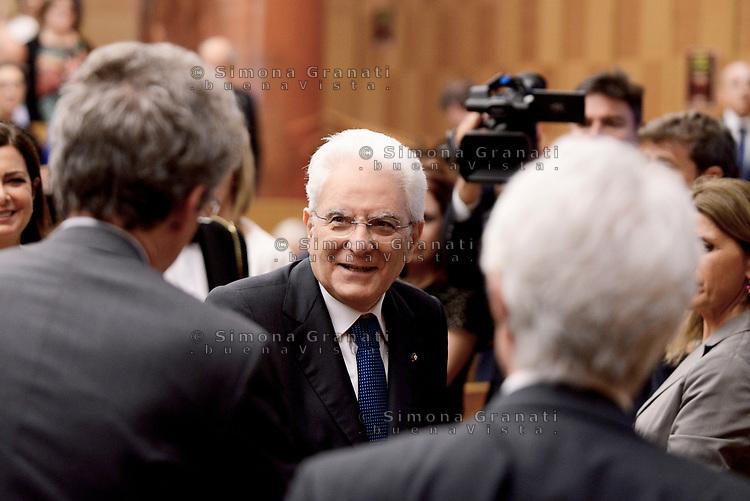 Roma, 7 Giugno 2017<br /> Sergio Mattarella<br /> Evento conclusivo del Festival dello Sviluppo Sostenibile &ldquo;Italia 2030: un Paese in via di sviluppo sostenibile&rdquo; alla Camera dei Deputati