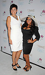 "MARINA DEL REY, CA. - September 27: Kathy Wright and Nicole ""Snooki"" Polizzi arrive at the ""Beautiful Eyes"" By Frownies Launch Party at the FantaSea Yacht Club on September 27, 2010 in Marina Del Rey, California."