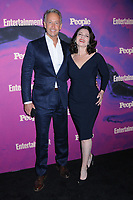 13 May 2019 - New York, New York - Peter Marc Jacobson and Fran Drescher at the Entertainment Weekly & People New York Upfronts Celebration at Union Park in Flat Iron.   <br /> CAP/ADM/LJ<br /> ©LJ/ADM/Capital Pictures