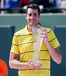 John Isner (USA) defeats Alexander Zverev (GER) by 6-7 (4), 6-4, 6-4 in Miami Men's Final