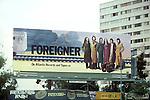 Foreigner Billboard on Sunset Strip circa 1977