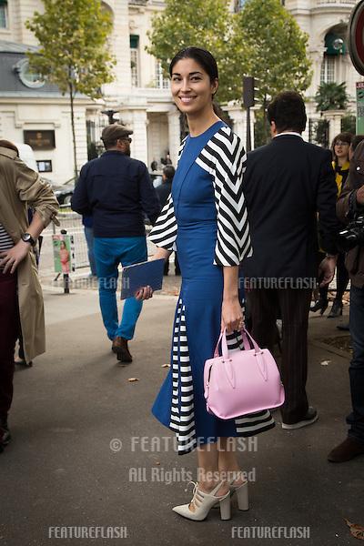 Tina Leung attend Miu Miu Show Front Row - Paris Fashion Week  2016.<br /> October 7, 2015 Paris, France<br /> Picture: Kristina Afanasyeva / Featureflash