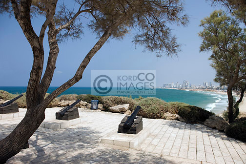 OVERLOOK PROMENADE OLD JAFFA TEL AVIV ISRAEL