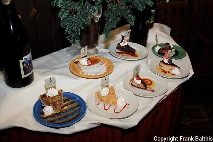 Desserts at El Tovar Hotel dining room