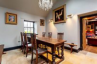 BNPS.co.uk (01202) 558833. <br /> Pic: Strutt&Parker/BNPS<br /> <br /> Dining room. <br /> <br /> Have Nessie for a neighbour...<br /> <br /> A beautifully-restored 19th century farmstead just minutes from Loch Ness with stunning Highland views is on the market for £675,000.<br /> <br /> The Steading is in the ancient village of Dores and has been lovingly restored and transformed to create a stylish yet cosy home.<br /> <br /> The house is just a few minutes' walk from the beach at Dores and on a clear day from the shore you can see all the way to the opposite end of the iconic loch - 25 miles away at Fort Augustus - which would be a perfect spot to hunt for its famous monster.<br /> <br /> The Steading would be an ideal property for someone looking for a peaceful, rural retreat in the Scottish Highlands, or could be a good investment property to rent out to holidaymakers.