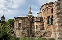 Europe/Turquie/Istanbul :  Eglise Saint-Sauveur-in-chora, Musée  Kariye