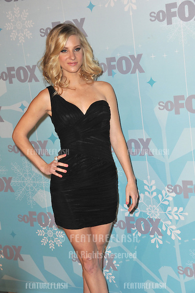 """Glee"" star Heather Morris at the Fox All-Star Party Winter 2011 in Pasadena..January 11, 2011  Pasadena, CA.Picture: Paul Smith / Featureflash"